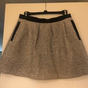 French Connection tweed mini skirt